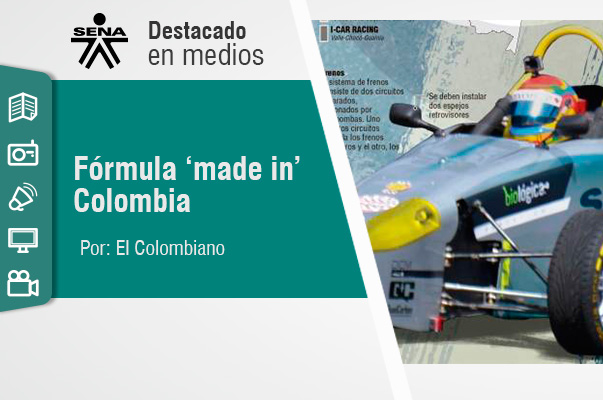 Fórmula 'made in' Colombia