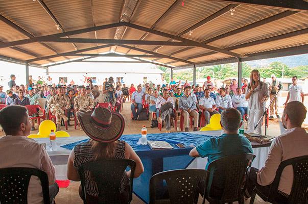El SENA acompaña la construcción de la paz en el Caquetá