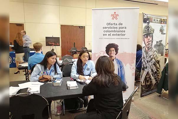 8d71b832c45f SENA presente en las Ferias de Servicios para colombianos en el exterior